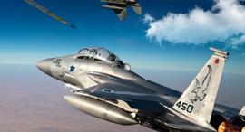 מטוסי F15 ישראליים בקרב (אילוסטרציה), צילום: USAF scalemates pngst