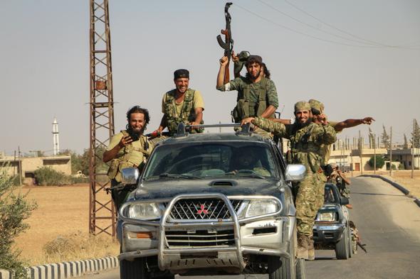 דוגפייט? נגד מי, הטנדרים של דאעש?