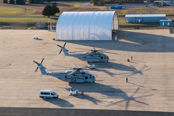 CH53K helicopter. Photo: Lockheed Martin