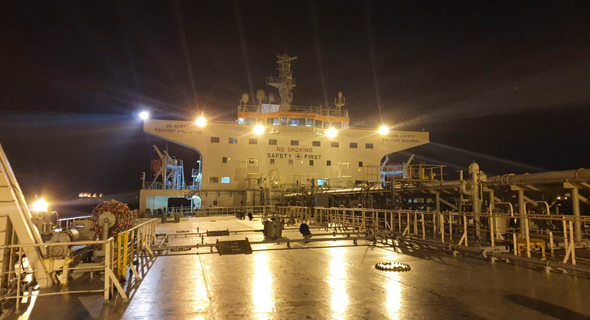 המיכלית מירוונה הלן בנמל פיראוס