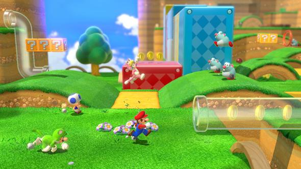 Super Mario 3D World. מתקן שעשועים אינסופי