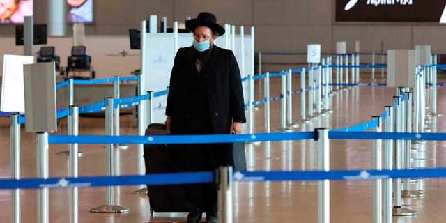 """פחות מ-25 אלף נוסעים עברו בנתב""""ג בפברואר"""