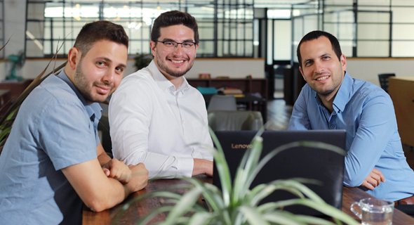 Axonius co-founders Avidor Bartov (left), Dean Sysman, and Ofri Shur. Photo: Axonius