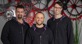 Rewire co-founders Adi Ben Dayan (left), Guy Kashtan, and Saar Yahalom. Photo: Arik Sultan