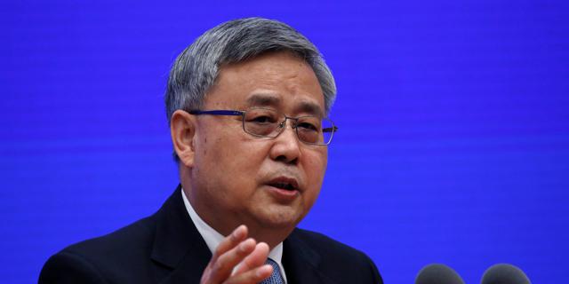 המפקח על הבנקים בסין גאו שוקינג, צילום: רויטרס