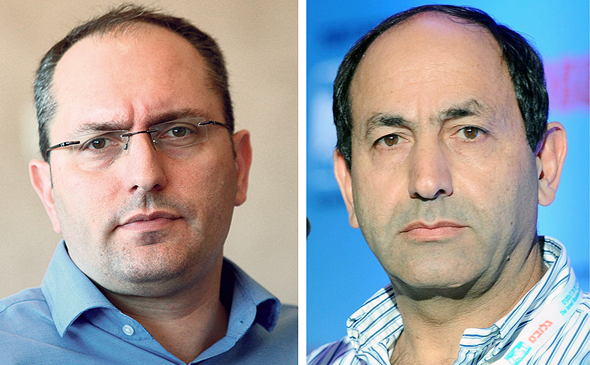 מימין: רמי לוי ומוטי בן משה , צילומים: עמית שעל, יובל חן