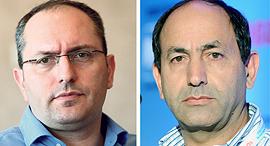 מימין רמי לוי ו מוטי בן משה, צילומים: עמית שעל, יובל חן
