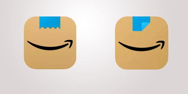 """אמזון שינתה את הלוגו שלה באפליקציה: """"הזכיר את היטלר"""""""