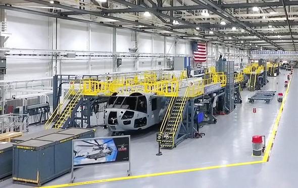 פס הייצור של סיקורסקי, צילום: Lockheed Martin