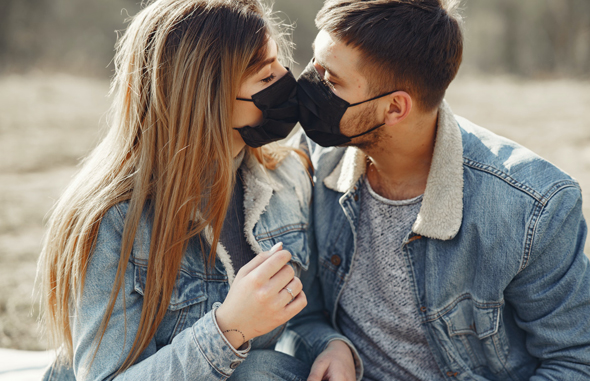 There has been a 137% increase in the mention of 'vaccine' among those who are seeking a real-life companion. Photo: OkCupid