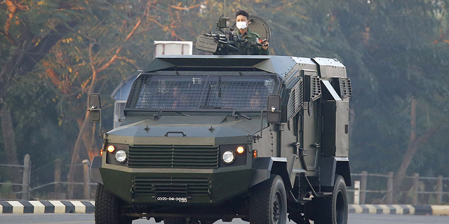 In Myanmar coup, old Israeli weapons exports are still in the picture