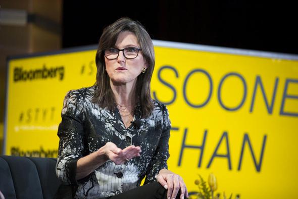 קתרין ווד. הכתבה עליה הוסיפה לקרן 12.5 מיליארד דולר , צילום: בלומברג