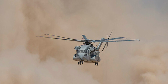 """בעיה: המסוק החדש של חיל האוויר """"נחנק"""" בנחיתה בחולות"""