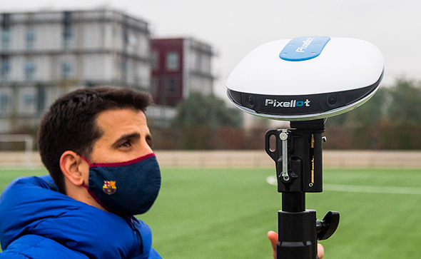 FC Barcelona produces more than 130 terabytes of video generated by Pixellot each season. Photo: FC Barcelona