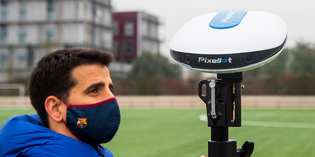 Pixellot launches Air, an AI-automated camera co-developed with FC Barcelona