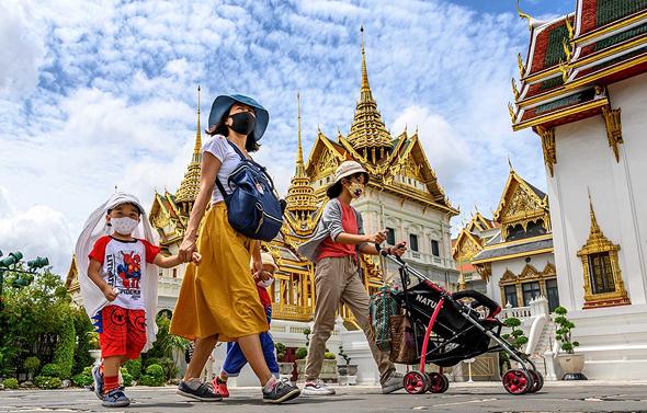 תיירים בבנגקוק, תאילנד