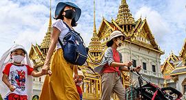 בנגקוק תאילנד תיירות תיירים קורונה, צילום: איי אף פי
