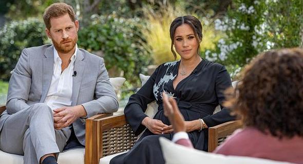 מייגן מרקל והנסיך הארי בראיון המדובר אצל אופרה ווינפרי