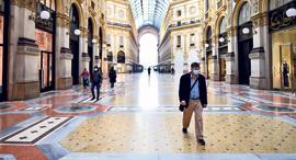 מרכז קניות במילאנו, צילום: רויטרס