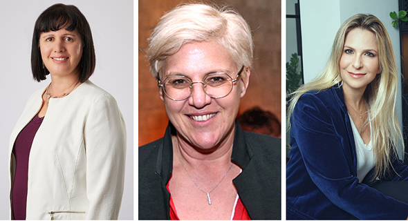 Left to right: Samsung's Rutie Adar, JVP's Fiona Darmon, and Qumra Capital's Sivan Shamri Dahan
