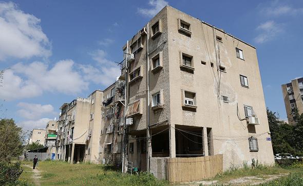 פרויקט פינוי בינוי ברחוב לה גארדיה 65-71 תל אביב , צילום: אוראל כהן