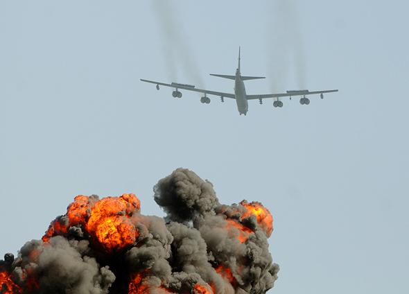 "B52 במפגן בארה""ב, צילום: שאטרסטוק"