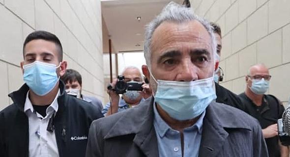משה איבגי בבית המשפט, צילום: גיל נחושתן