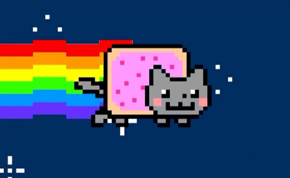 Nyan Cat, the Gif that started it all.