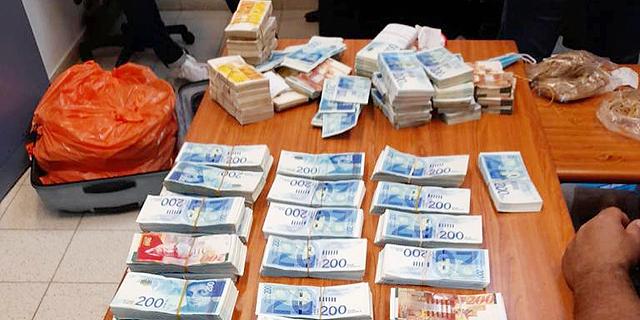 חשד: איש העסקים מסביון שנתפסו בביתו 13 מיליון שקל במזומן - העלים מס