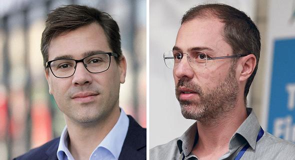 eToro founders Yoni and Ronen Assia. Photo: Orel Cohen and Dudi Hason