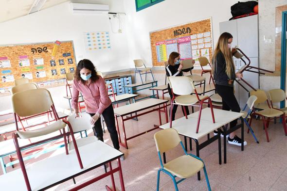 בית ספר יסודי בדרום, צילום: חיים הורנשטיין