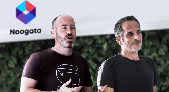 Noogata co-founders Assaf Egozi (left) and Oren Raboy. Photo: Yuval Sol Boker