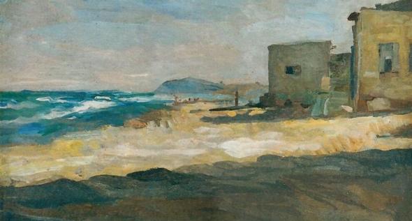 שלמה ברנשטיין, בתים ליד הים 1920