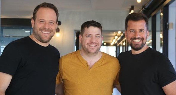 Left to Right: Mor Lavi, Co-founder & COO; Gilad Zirkel Co-founder & CTO; Roy Avidor Co-founder & CEO. Photo: Cymbio