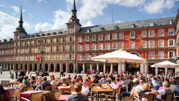 מדריד. האם ספרד תעבור לשבוע עבודה מקוצר?, צילום: גטי אימג