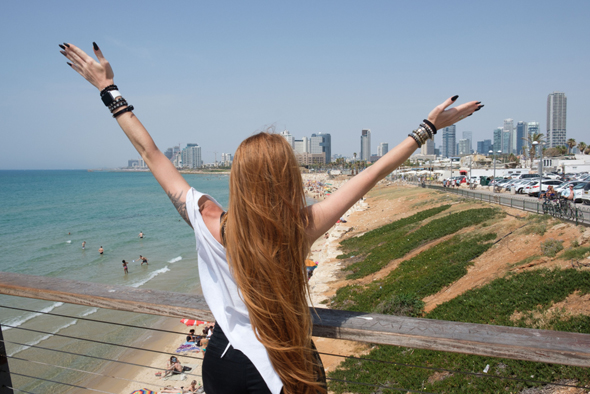Women in Tel Aviv have started using SafeUp. Photo: Shutterstock