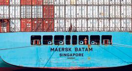 ספינת משא של מארסק, צילום: בלומברג