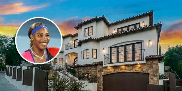 צפו: הבית של סרינה וויליאמס בבוורלי הילס מוצע למכירה