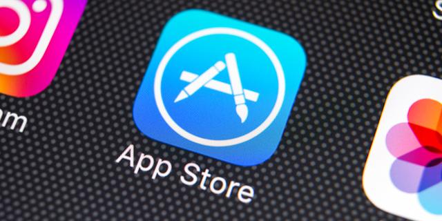 חנות האפליקציות של אפל, צילום: שאטרסטוק