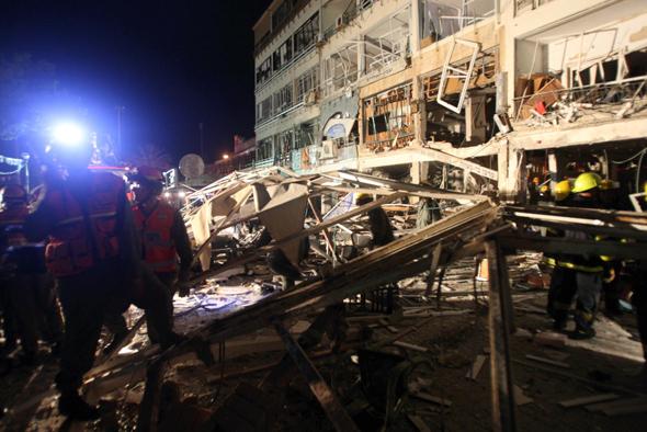 הפיצוץ ב-2011, צילום: עמית מגל