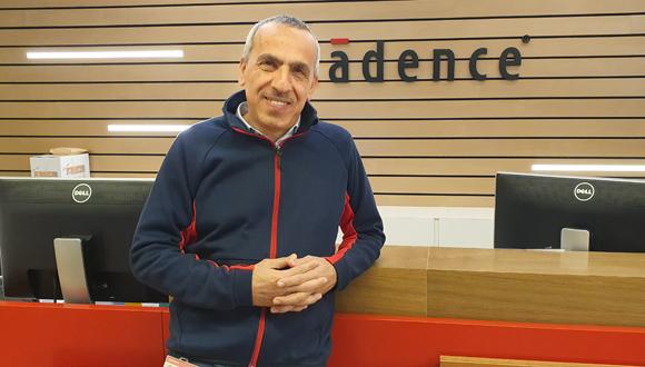 פרופ' זיאד חנא, מנהל מרכזי הפיתוח של Cadence בישראל