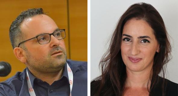 Cydome co-founders Nir Ayalon (left) and Avital Sincai. Photo: Michal Azachi and Cydome
