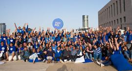 עובדי חברת יוטפו Yotpo  2021, צילום: מור שני