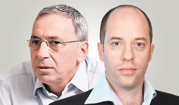 """מימין: עופר לינצ'בסקי מנכ""""ל גדות ומנהל קרן טנא אריאל הלפרין"""