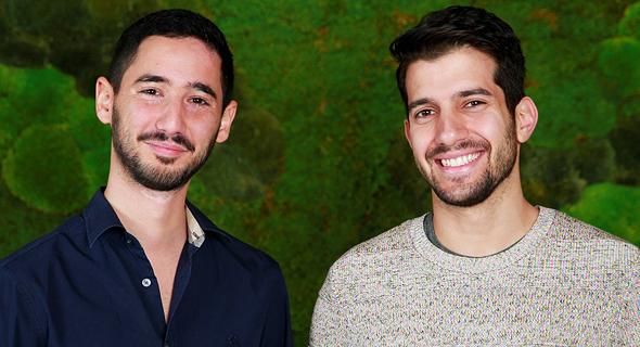 Axis Security co-founders: Dor Knafo (left) and Gil Azrielant. Photo: Yarden Rokach