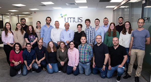 The Utilis team of scientists and engineers helped develop the innovative SAR sensors. Photo: Elishur Photography