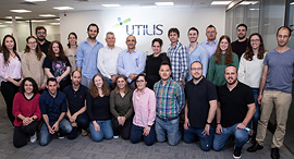The Utilis team. Photo: Elishur Photography