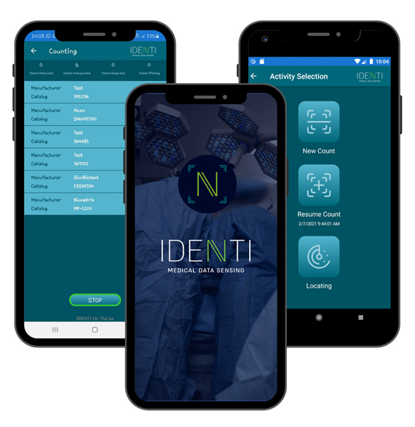 An example of the Identi app. Photo: Identi