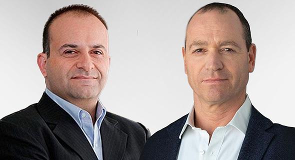 JVP GP Yoav Tzruya (left) and Morphisec CEO Ronen Yehoshua. Photo: Morphisec