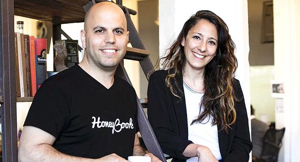 נעמה ועוז אלון, מייסדים משותפים HoneyBook